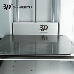 Z370 Dual Extruder 3D-skrivare vit