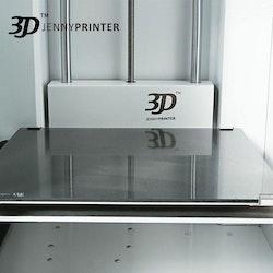 Z370 Dual Extruder 3D-skrivare silver