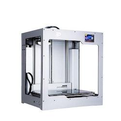 X340 dubbla extruders 3D-skrivare vit