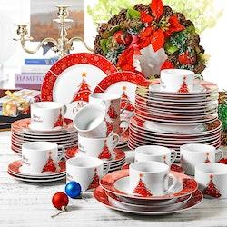 VEWEET Christmastree, servis set 60-delar