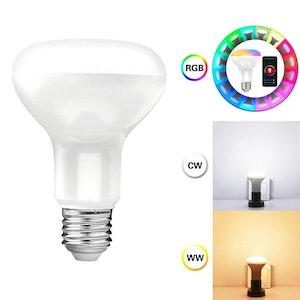 Tuya smart RGB LED-lampa, x1