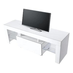 Modern TV-bänk med LED belysning