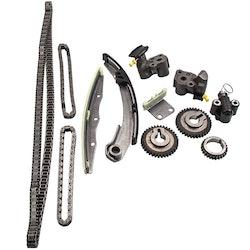 Kamkedjan Crank Gear Kit Passar Nissan 3.5L V6 VQ35DE Altima Maxima TKNI034