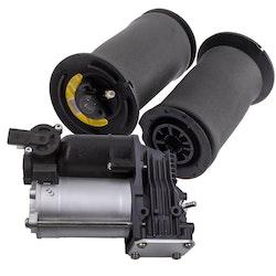 Rear Air Suspension Spring Bag & amp; Kompressor Pump 37206792855  BMW 5 E61