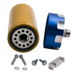Bränslefilter Kit Adapter  GM Duramax Chevrolet GMC 6.6L 2001-2016