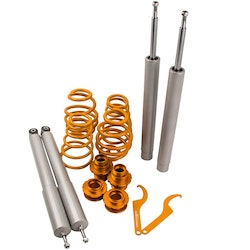 BMW E30 All Justerbar Coilover Suspension Spring Lit 51mm Front Inlägg