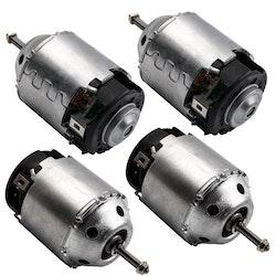 4 X Heater Blower Fläkt Motor RHD  Nissan X-Trail T30 2,2 2001-2013 272258H31