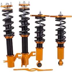 Nissan Sentra 00-06 Shocks Adj. Höjd Coilovers Suspension Coil Spring Kits