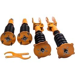 Porsche Cayenne 2002-2010 24 Justerbar Damper Shocks Complete Coilovers Kit