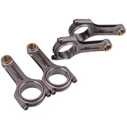 Nissan Skyline FJ20 22mm Pin Diameter Con Rod Vevstakar Conrods - 4340 smitt