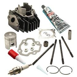 Yamaha PW 50 PW50 QT 50 QT50 Cylinder Kolvringpackningen Set Kit 40mm