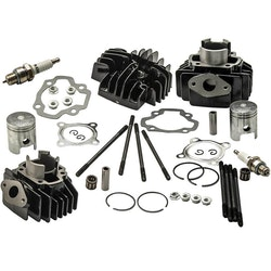 Yamaha PW 50 PW50 QT 50 QT50 Cylinder Kolvringpackningen Set Kit 40mm Ny