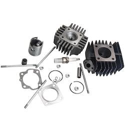 Suzuki Quadrunner LT 50 1985 86 Full Cylinder Kolvringpackningen Top End Kit