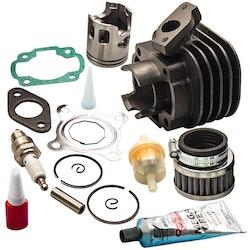 Fit Polaris Scrambler Predator 50cc ATV Cylinder Piston Rings Packning Top End K