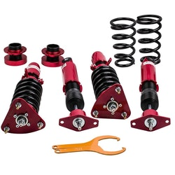 2010 - 2013  Mazda 3 reglerbart spjäll Struts Stötar absorbent Tuning Kit Coi