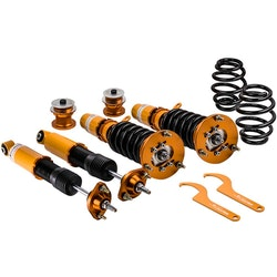 BMW E46 3-serie 1998-2006 fullt justerbara Absorber Suspension Kit Coilovers