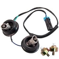 Dual Knock Sensorer + Wire Harness  GM LS1 LQ9 LS6 4.8L 5.3L 5.7L 6.0L 8.1L