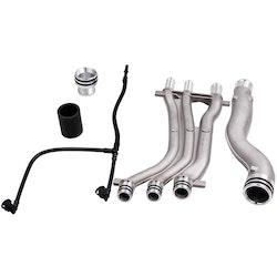Porsche Cayenne 4.5 V8 2005 Aluminium kylvätskeröret Upgrade Repair Kit