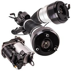 Mercedes-Benz S-Class C216 Front Suspension + Kompressor Pump 2006-2013 Ny