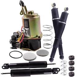 Ny 4PCS Stötdämpare + Suspension Kompressor Kit  CHEVY GMC Escalade Yukon