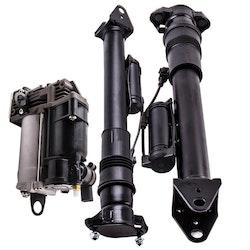 Mercedes W164 x164 Air Suspension Damper Kompressor Pump 1643200731 Kit