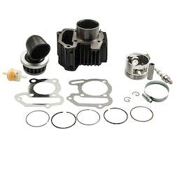 Yamaha Badger 80 Yfm80 Cylinder Kolv Packning Top End Kit full uppsättning 8