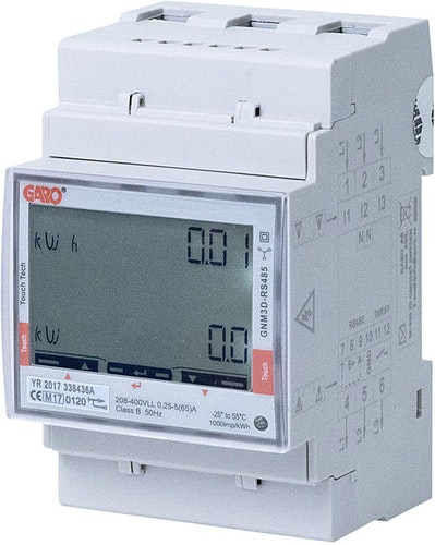 Energimätare 3-fas Lastbalansering Garo