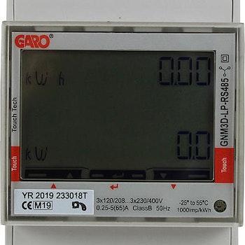 Energimätare 3-fas för solpaneler, Lastbalansering Garo