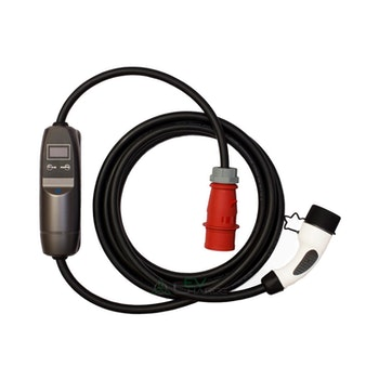 Laddkabel Khons, 3-fas till Typ 2, 400V, 11kW