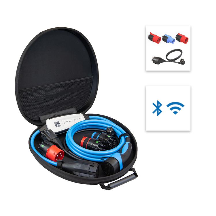 NRG Kick, Laddkabel 3-fas till Typ 2, 22kW, Bluetooth och Wifi