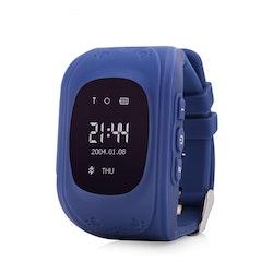 Mobilklocka Q50 med GPS funktion Blå