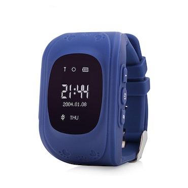 Mobilklocka Q50 med GPS funktion -Blå