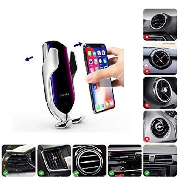 Mobilladdare till bilen 10W QI