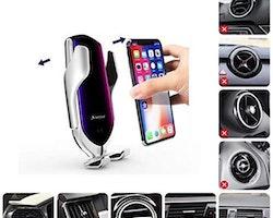 Mobilladdare & hållare till bilen 10W QI