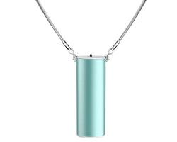 E-G2 Luftrenare / Halsband -Blå metallic