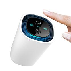Luftrenare E-C2 för fordon, hem & kontor med inbyggt batteri- Svart