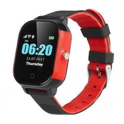 Mobilklocka GW-700S med GPS funktion Svat/Röd
