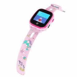 KT10 – 4G Mobilklocka med videosamtal för barn – Rosa