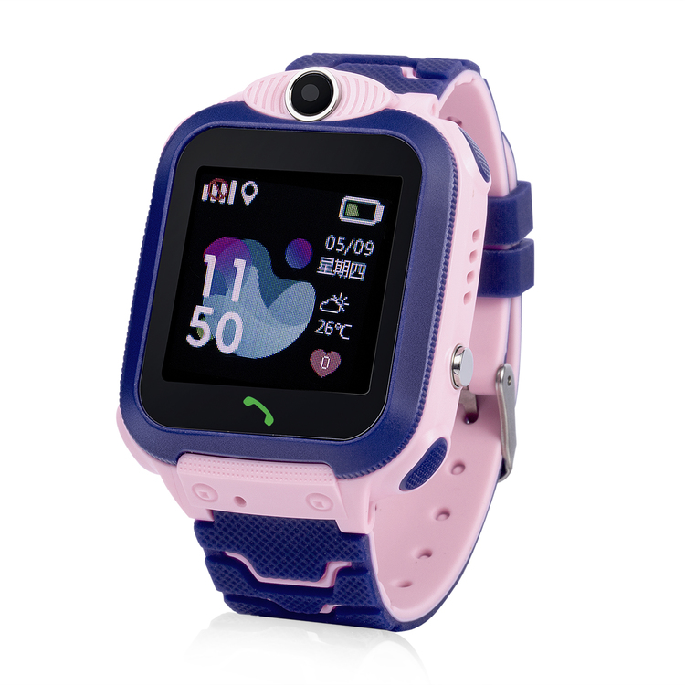 GW600S Vattentät Mobilklocka med GPS - Rosa