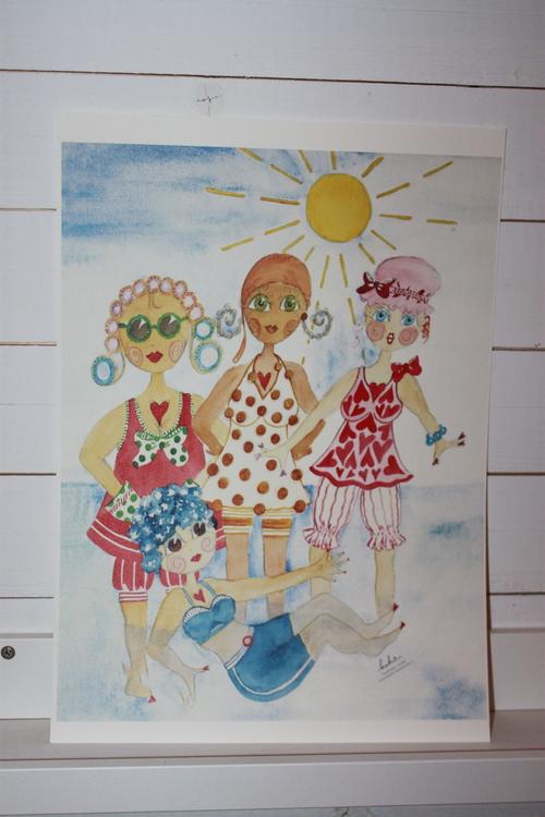 """Katrin Skoglund """" Badbrudar i badet"""""""