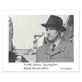 """Affisch Jan Stenmark """" Tulo"""""""