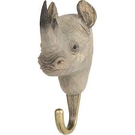 Handsnidad krok Noshörning