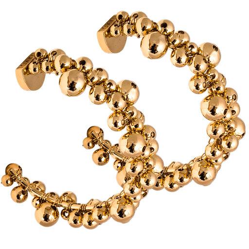 Loop örhänge guld