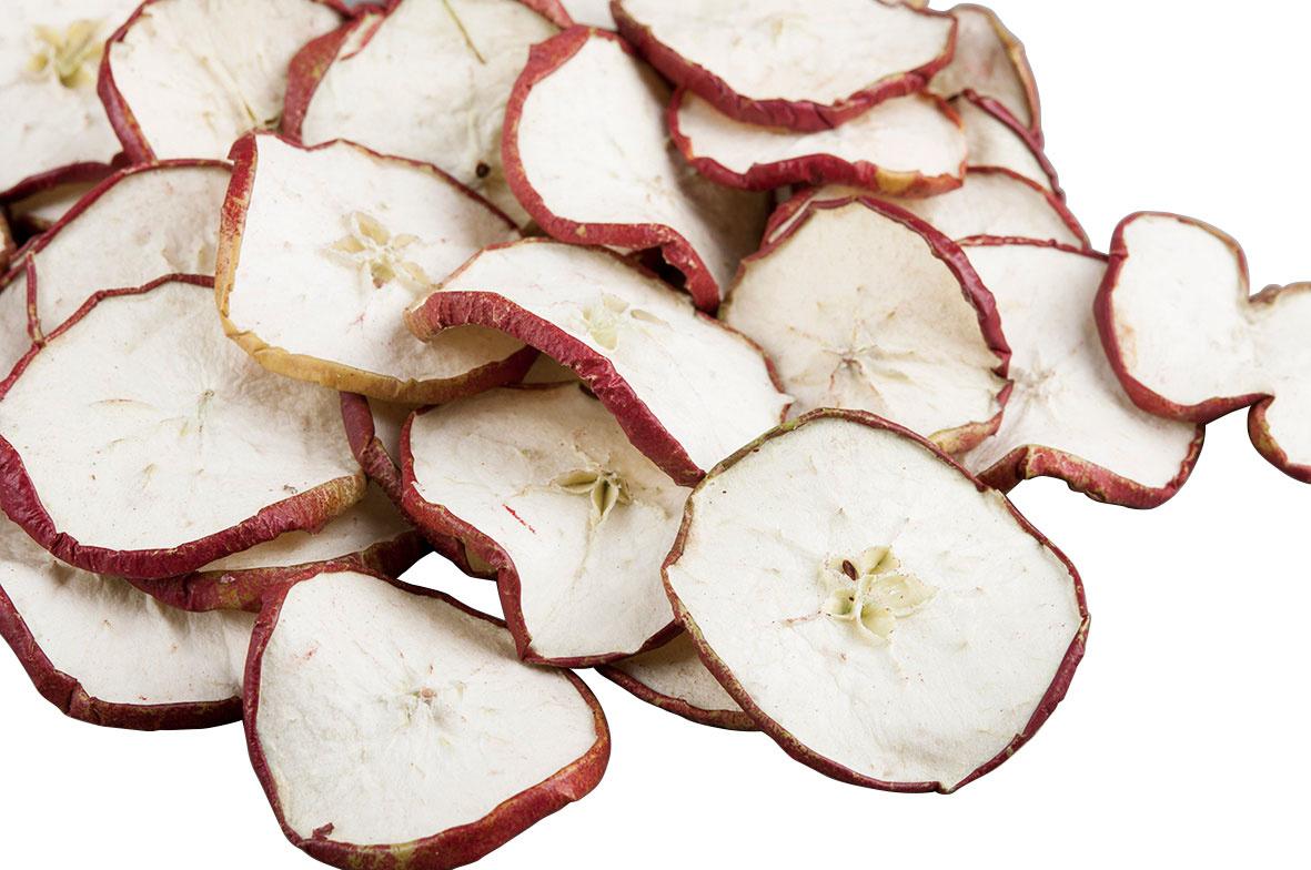 Torkade äppelskivor 10-pack