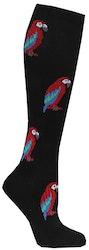Stödstrumpa med papegoja mönster - Zent Medical