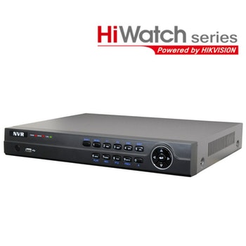 HiWatch by Hikvision NVR-104M-A/4P 4 Channel 4 POE 6MP 1080P Alarm NVR Network Video Recorder