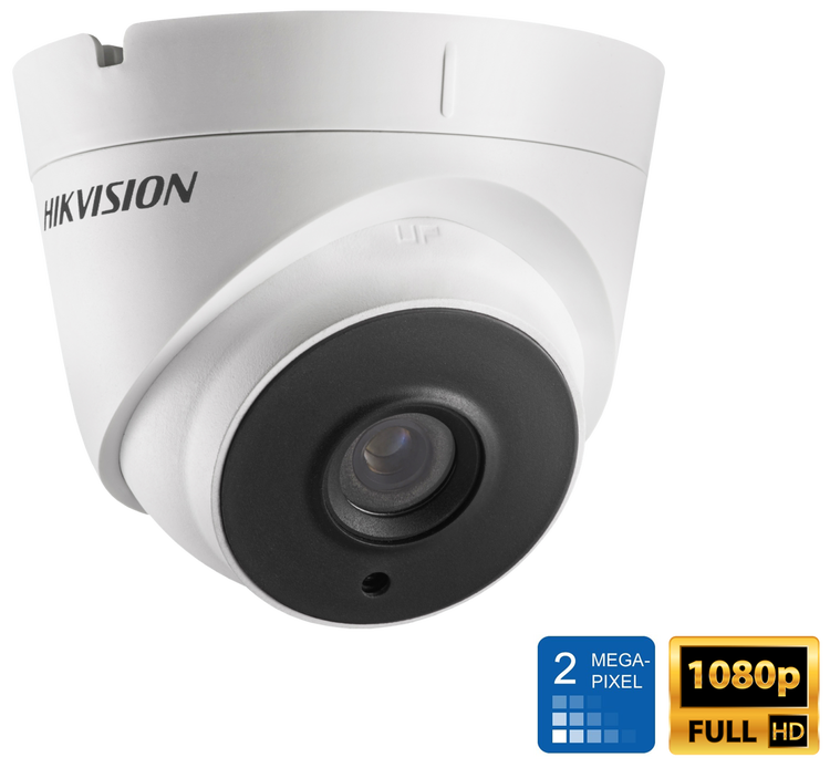 HiWatch by Hikvision IPC-T120 2MP HD 1080P POE 10M IR IP Network Turret CCTV Security Camera