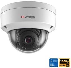 HiWatch by Hikvision IPC-D120H H.265 2MP 1080P POE Vandal Proof Dome 30M IR IP67 IK10 IP Network Security CCTV Camera
