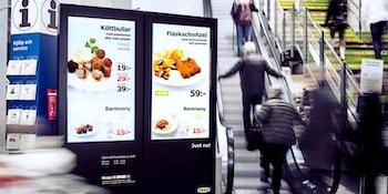 TekSign Digitala menytavlor / skärmar för Restaurang, Café och Butiker.