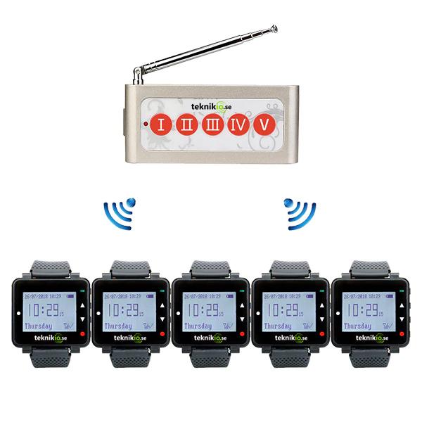 ServiceTech anropssystem mellan köket och personal